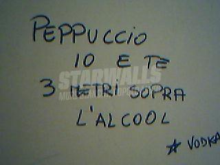 Scritte sui Muri Peppuccio, l'hai stregata!
