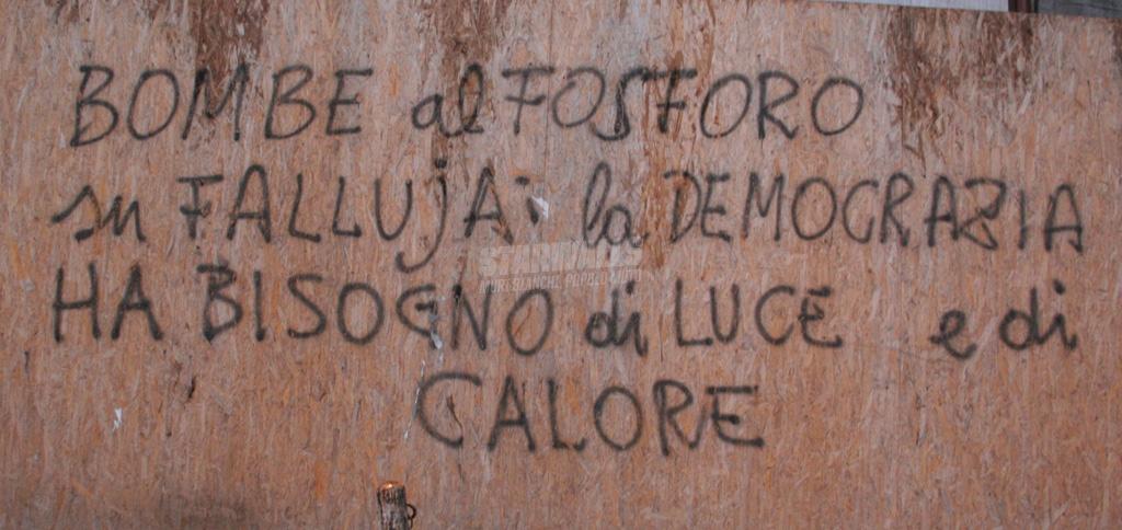 Scritte sui Muri Democrazia
