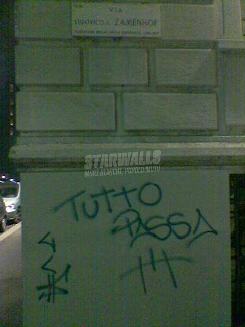 Scritte sui Muri panta rei