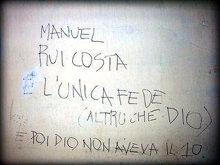 Scritte sui Muri io credo