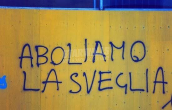 Scritte sui Muri Rivolta popolare