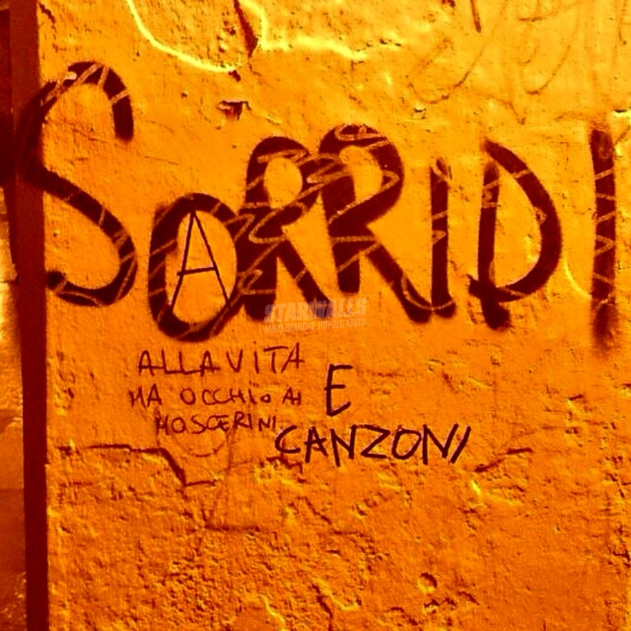 Scritte sui Muri Smile