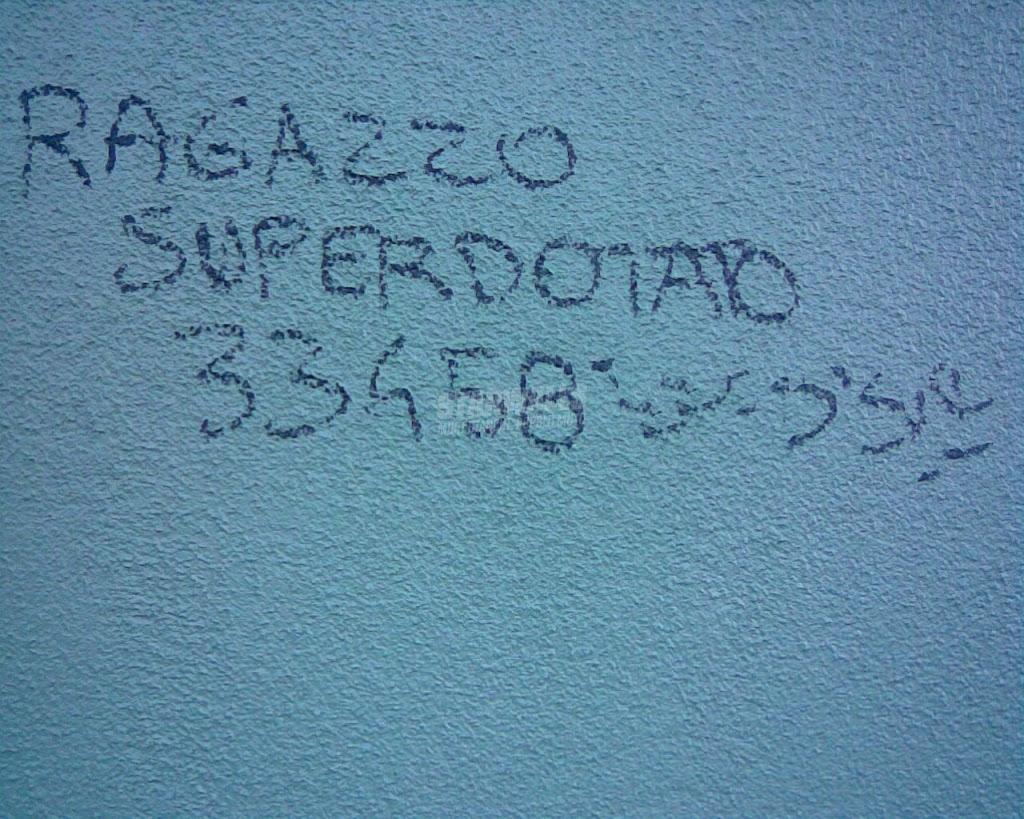 Scritte sui Muri Cerco/offro