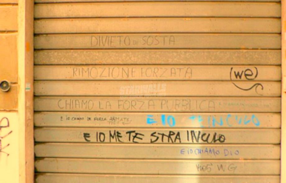 Scritte sui Muri Botta&risposta