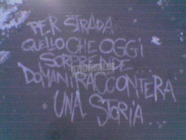 Scritte sui Muri Story teller
