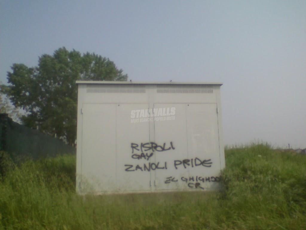 Scritte sui Muri luciano, che poi è luciana