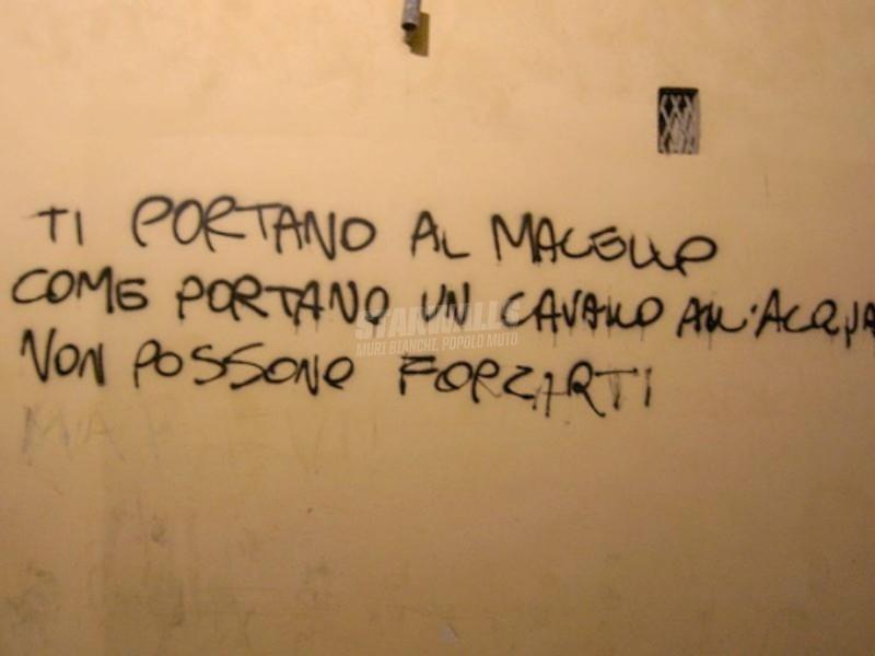 Scritte sui Muri Opponiti