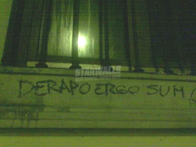 Scritte sui Muri sentirsi centauro