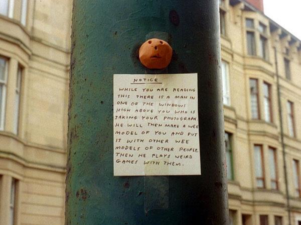 Scritte sui Muri Immagini rubate e abusate