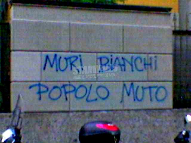 Scritte sui Muri Potere alla parola!