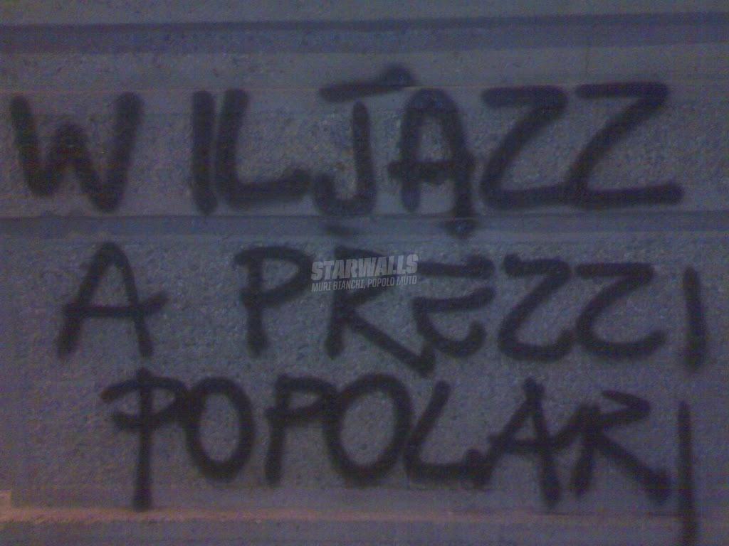 Scritte sui Muri rivoluzione Jazz