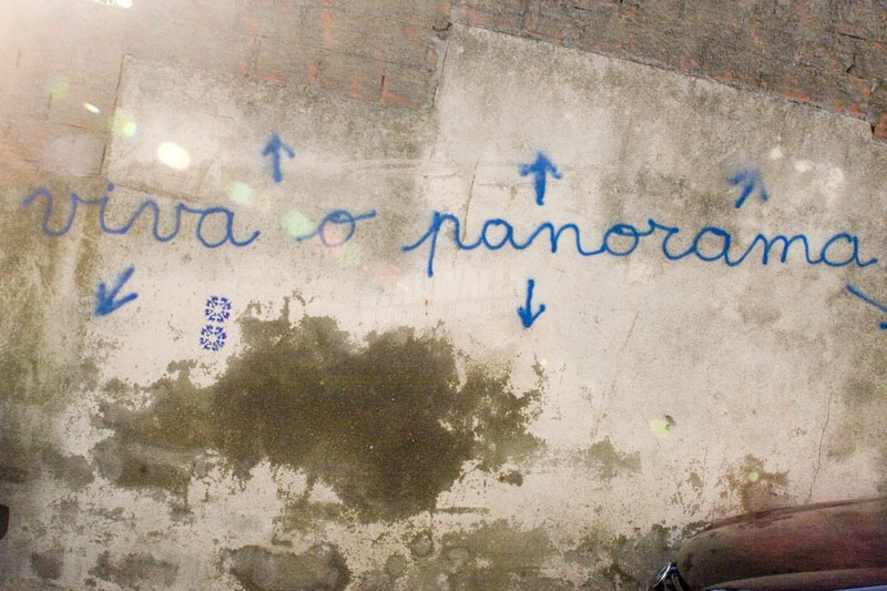 Scritte sui Muri o panorama