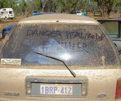 Scritte sui Muri italian driver
