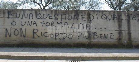 Scritte sui Muri Smemorato