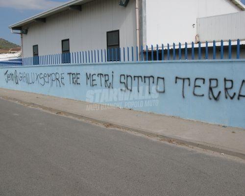 Scritte sui Muri insieme fino alla fine...