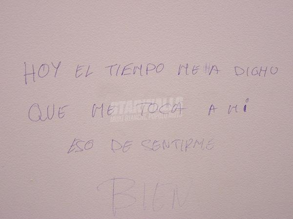 Scritte sui Muri oggi tocca a me..