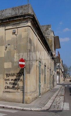 Scritte sui Muri Dichiarazione all'angolo
