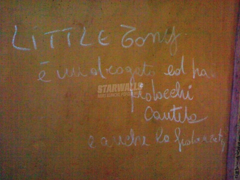 Scritte sui Muri droga, pidocchi e rock n' roll