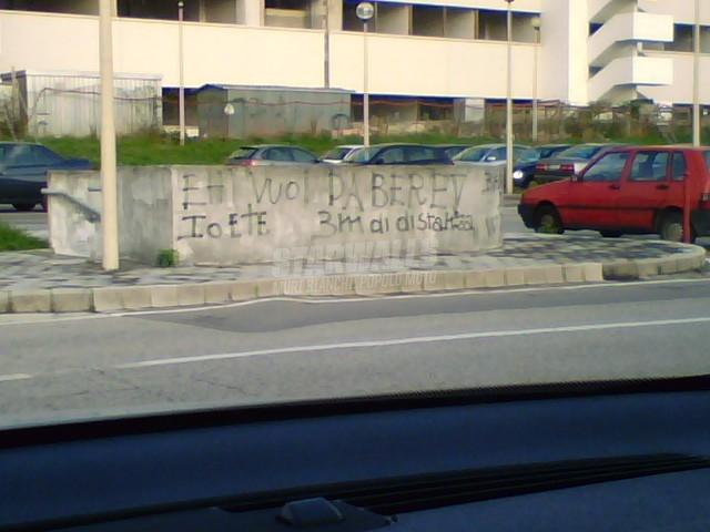 Scritte sui Muri Astemio
