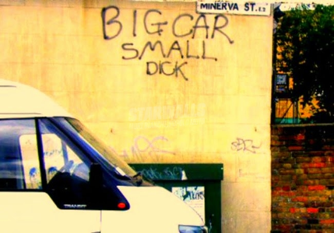 Scritte sui Muri Le dimensioni contano