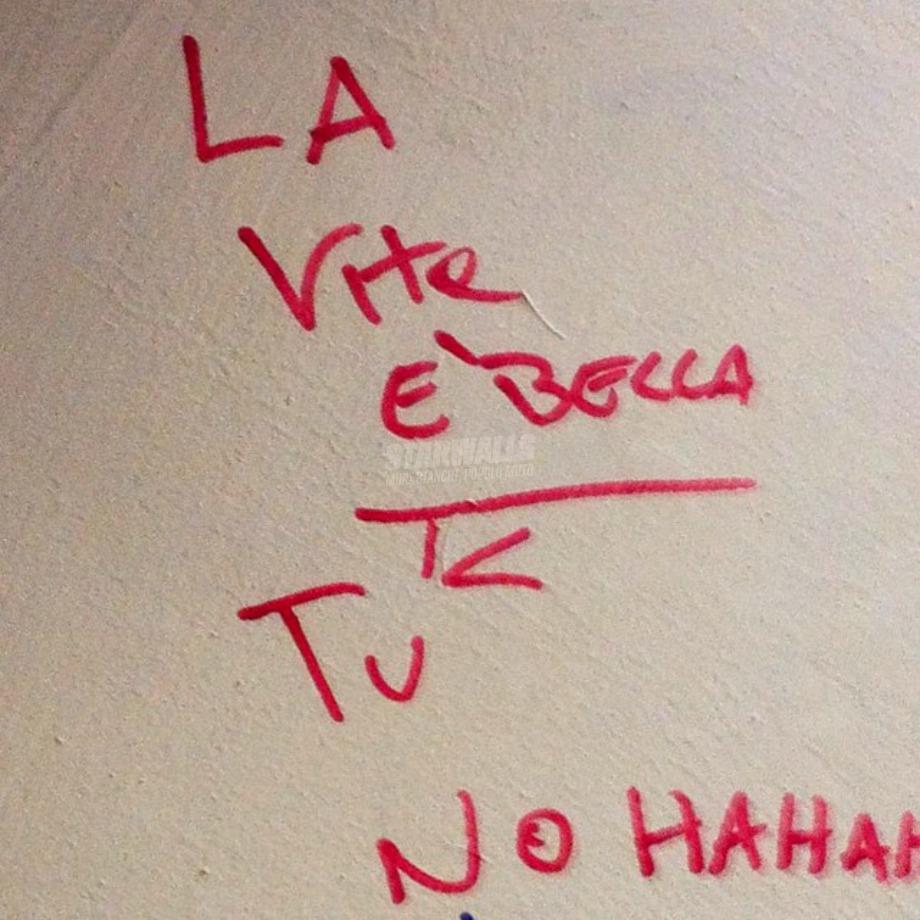 Scritte sui Muri Lapidario