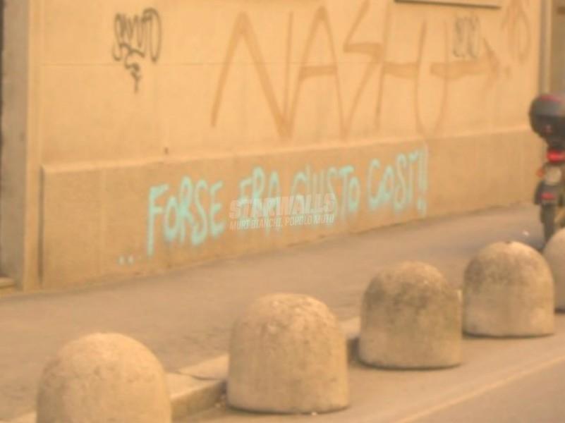 Scritte sui Muri È andata
