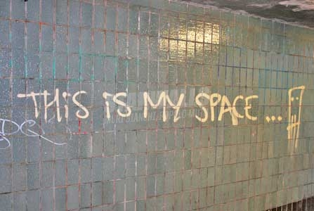 Scritte sui Muri Lo spazio è di tutti?
