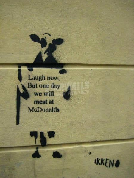 Scritte sui Muri Ridi oggi ma un domani...