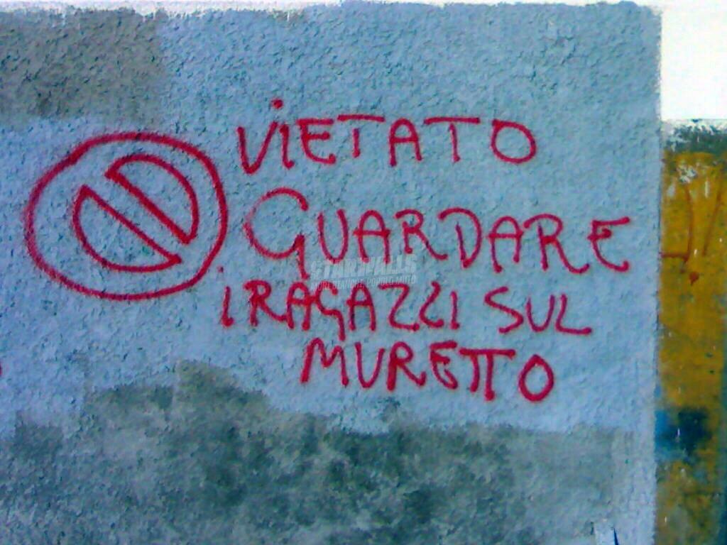 Scritte sui Muri Cambia canale