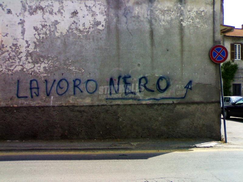 Scritte sui Muri il sommerso