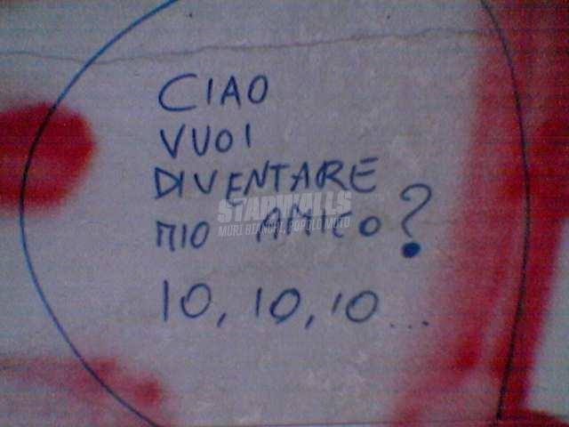 Scritte sui Muri A.A.A. cercasi amicizia