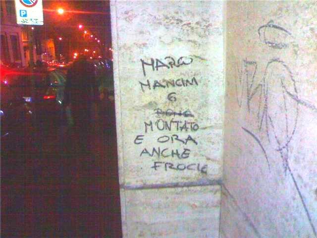 Scritte sui Muri non te la menare ..