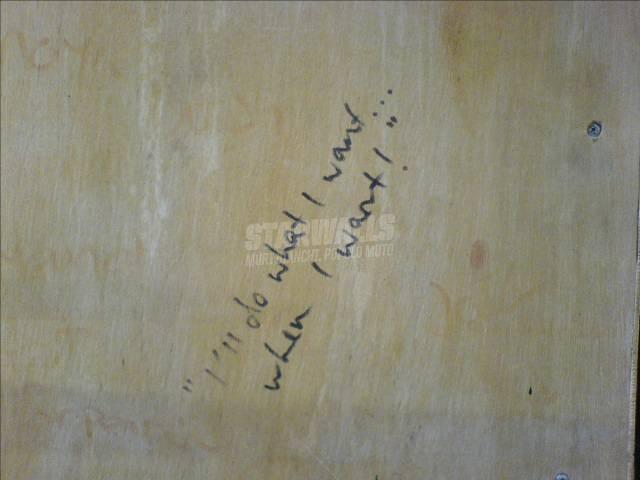 Scritte sui Muri cosa e quando mi pare