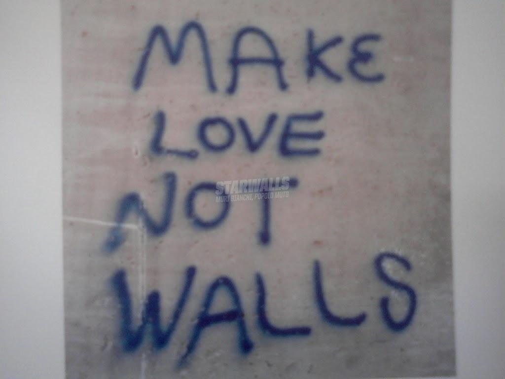 Scritte sui Muri Solo amore