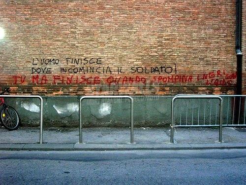 Scritte sui Muri inizio e fine