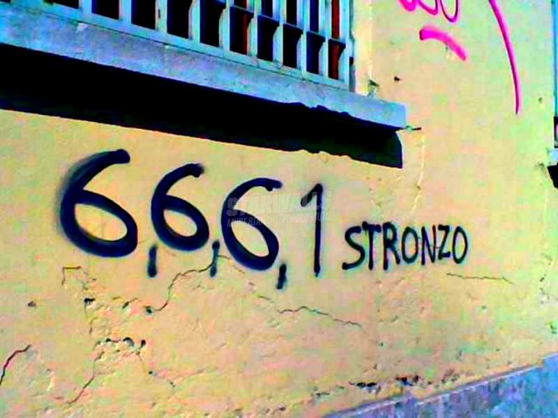 Scritte sui Muri Numeri&parole