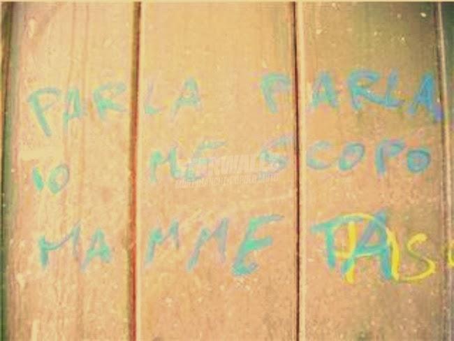Scritte sui Muri tra il dire e il fare