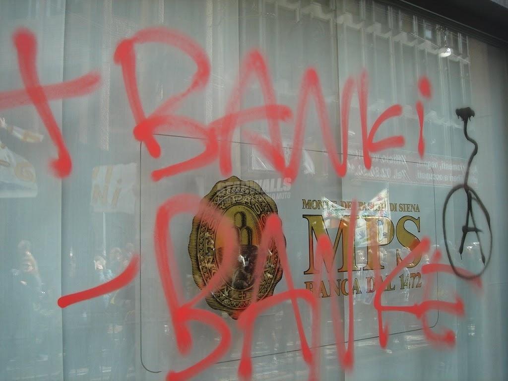 Scritte sui Muri Rage against Gelmini