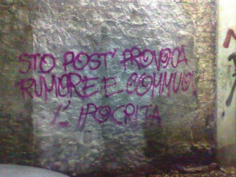 Scritte sui Muri Location falsa e fastidiosa