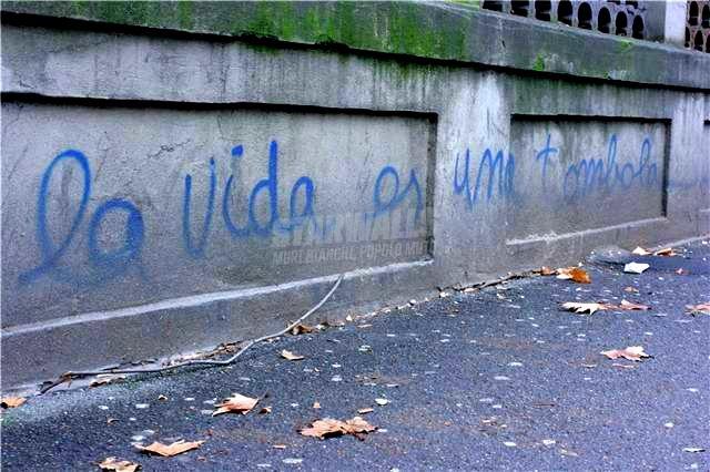 Scritte sui Muri Si yo fuera maradona, vivirìa como èl ..