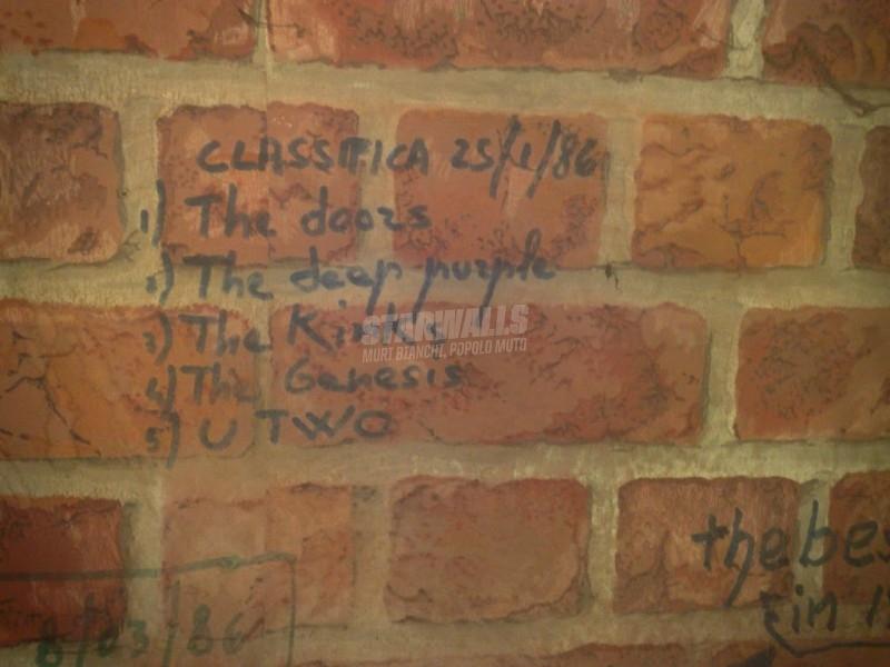 Scritte sui Muri Playlist d'annata