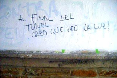 Scritte sui Muri Sperando non sia un treno