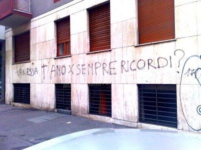 Scritte sui Muri azione di remind