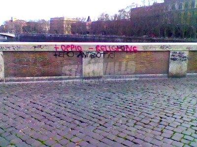 Scritte sui Muri voglia di alcaloidi