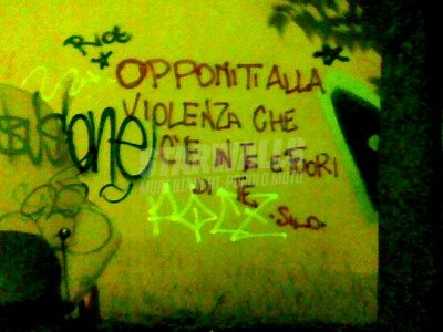 Scritte sui Muri In&out