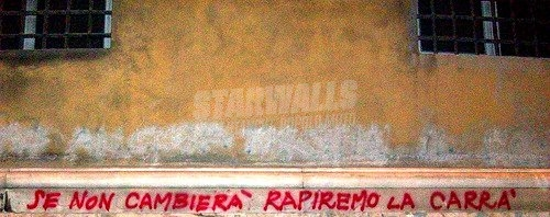 Scritte sui Muri Anarchy in Genova