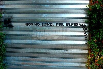 Scritte sui Muri rivendicazione