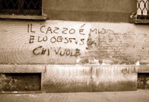 Scritte sui Muri al miglior offerente