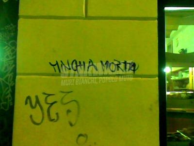 Scritte sui Muri Condoglianze