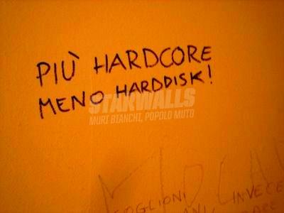 Scritte sui Muri Spegni il pc